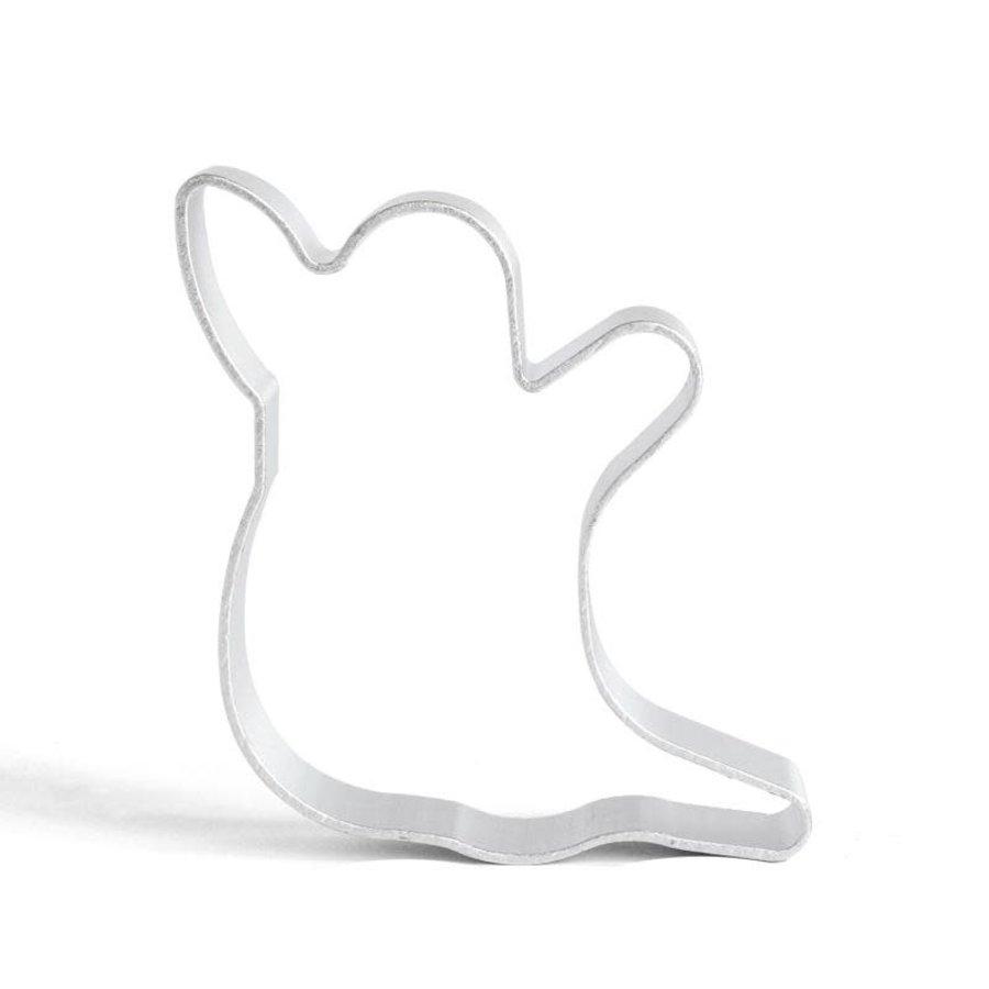 Spook koekjesvorm aluminium-1