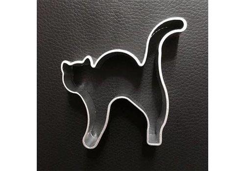 Kat op hoge poten koekjesvorm aluminium