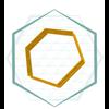 Jillbeesz Hexagon, Jillbeesz 4,5x4,5 cm