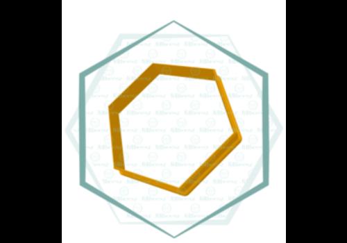 Hexagon, Jillbeesz 4,5x4,5 cm