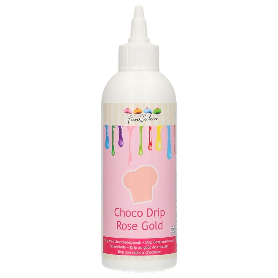 FunCakes Choco Drip Rose Gold 180ml-1