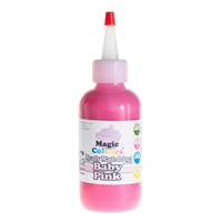 Ready made icing baby roze