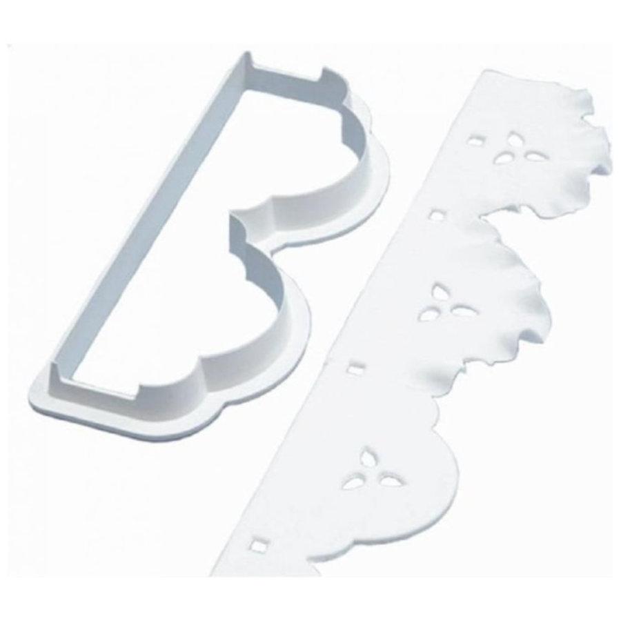Broderie cutter Flounce Frill door PME-1