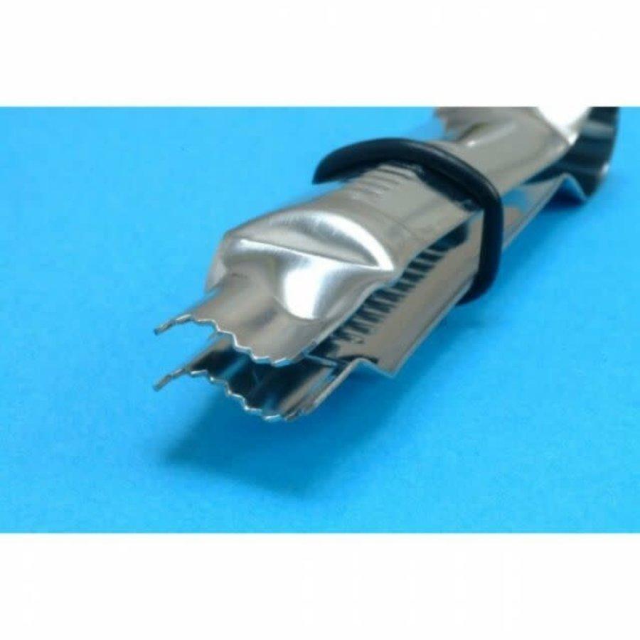 Wavy line Crimper serrated edge door PME-1