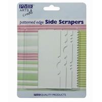 Side Scraper met Patroon Set/4 door PME
