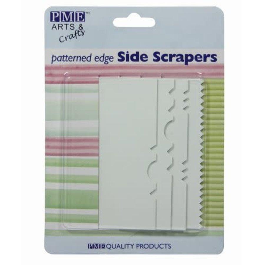 Side Scraper met Patroon Set/4 door PME-1