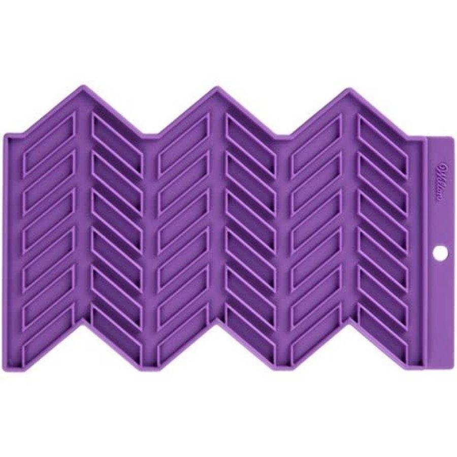 Wilton Silicone Precision Patterns -Herringbone--1