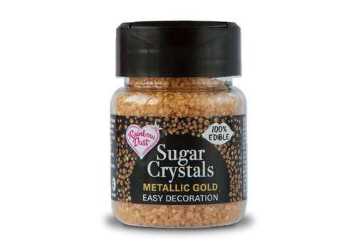 Rd sugar crystals gold