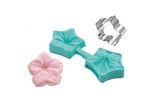 Sugarflex Veiner Mini Bloemen door Silicomart