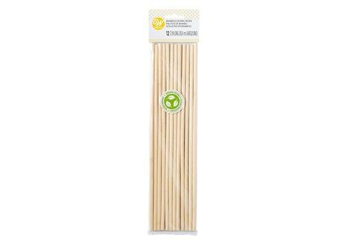 Bamboe Dowel Stokjes set/12 door Wilton