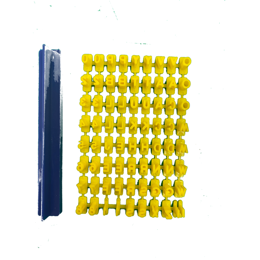 Letter stempels-1