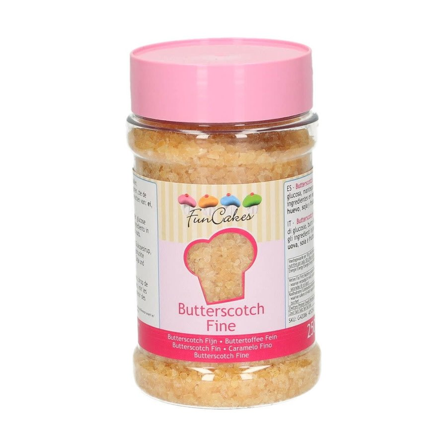 Butterscotch Fijn 250g door Funcakes-1