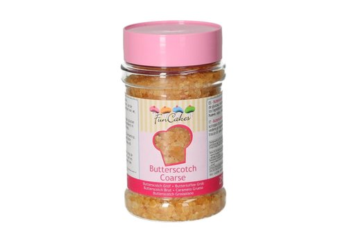 Butterscotch Grof 250g door Funcakes