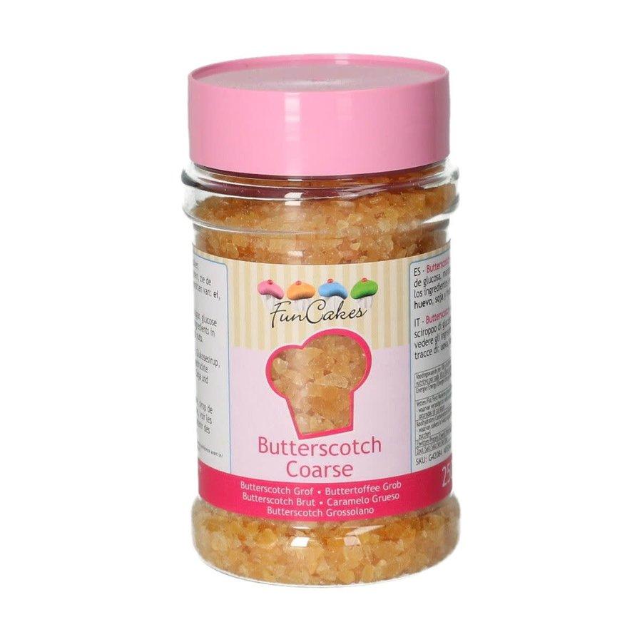Butterscotch Grof 250g door Funcakes-1