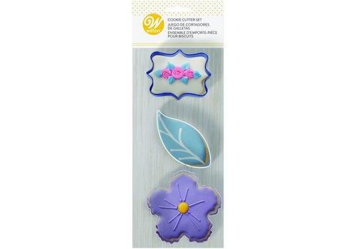 Cookie Cutters Floral Set/3 door Wilton