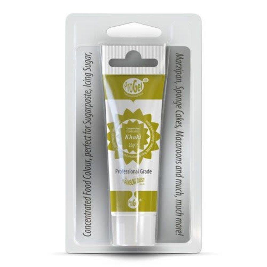 Eetbare Kleurstof Gel Khaki door RD ProGel®-1