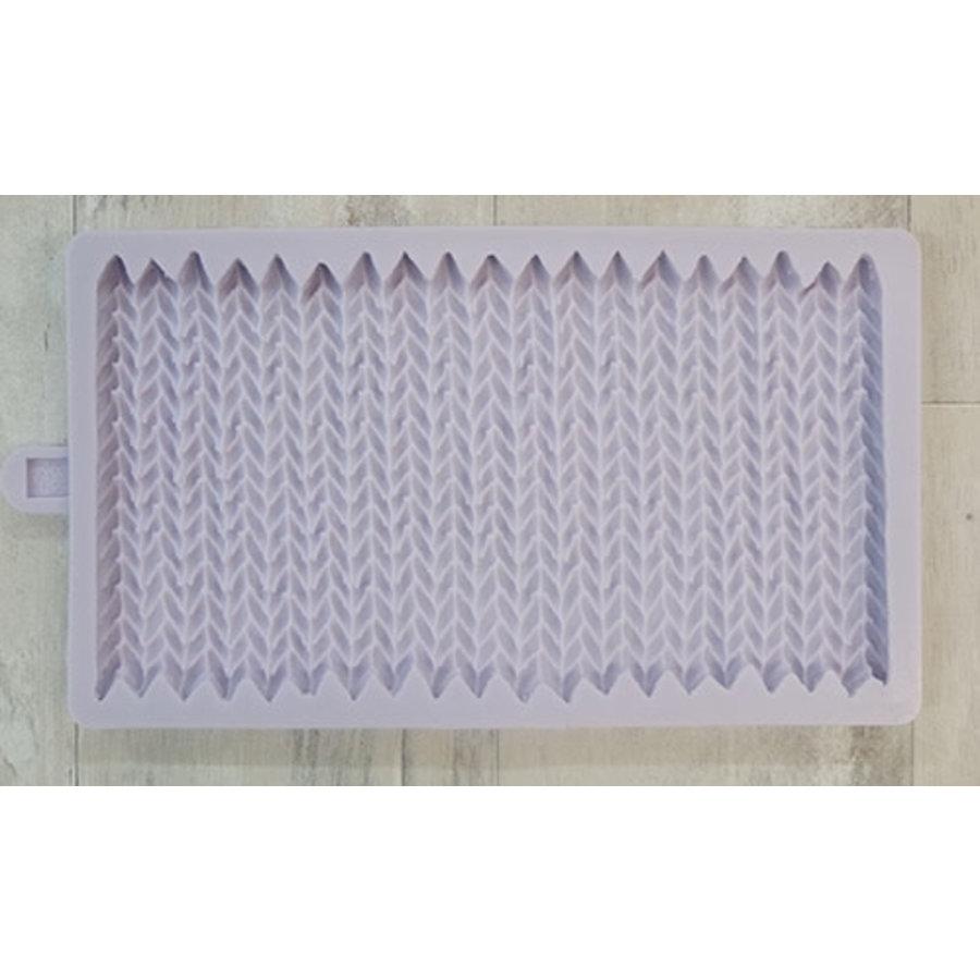 Chunky Knit mould Karen Davies-1