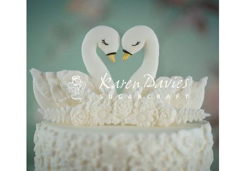 Swans zwaan Cookie Mould Karen Davies