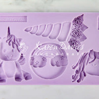 Unicorn Cookie Mould Karen Davies