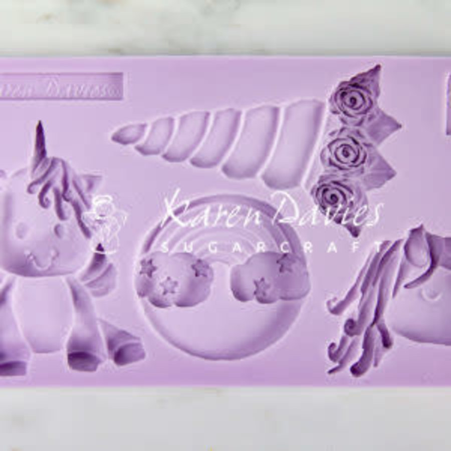 Unicorn Cookie Mould Karen Davies-1