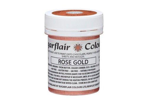 Sugarflair Chocolade Verf Rosé Goud 35g