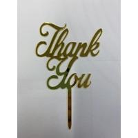 Thank you acryl goud