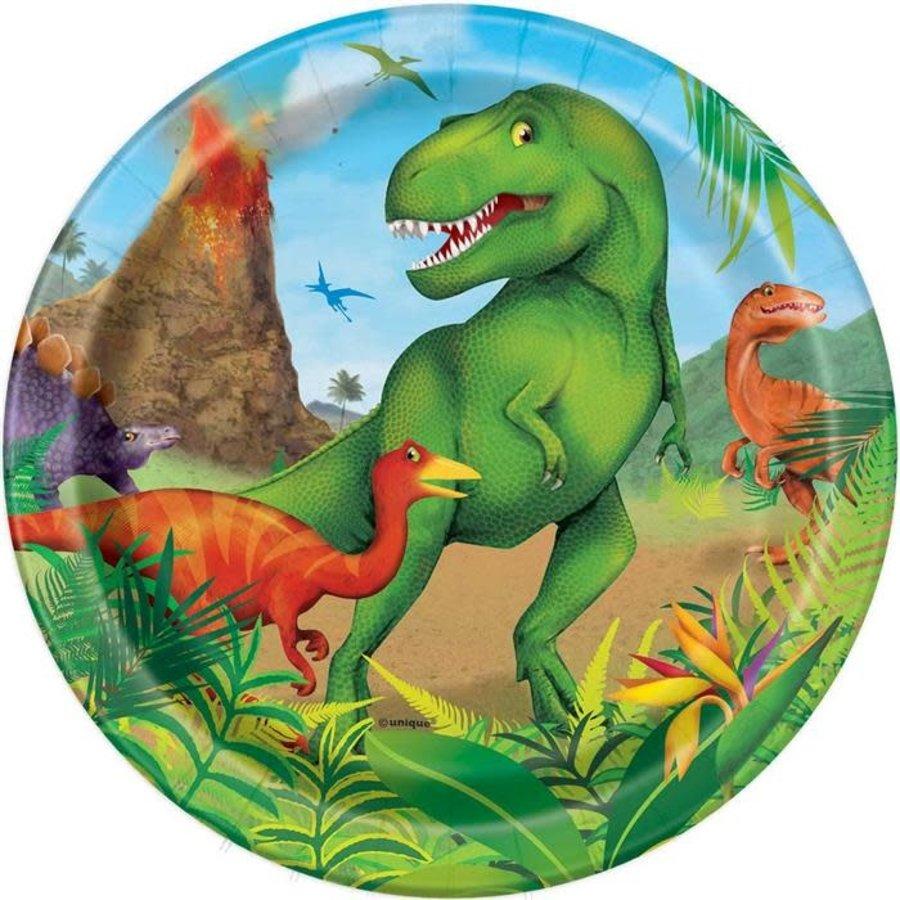 Borden Dinosaurus 18cm 8st-1