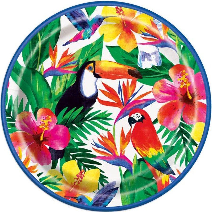Borden Palm Tropical Luau 23cm 8st.-1
