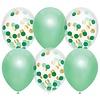 Ballonnen mix Lovely Mint 30cm 6st
