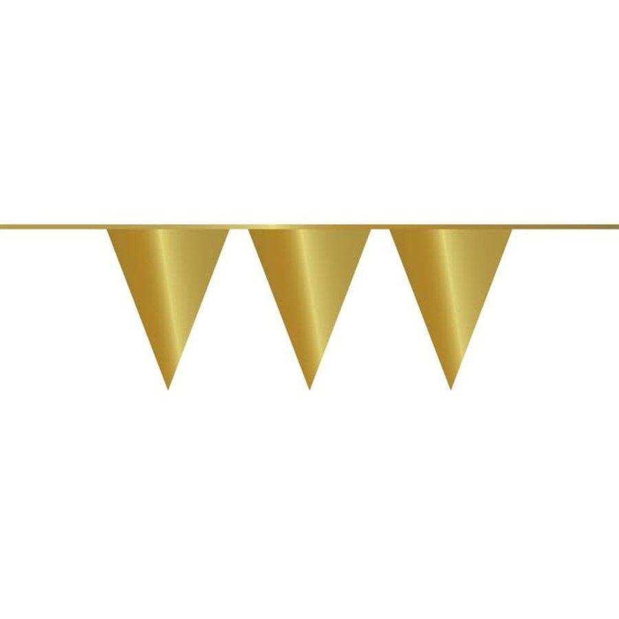 Vlaggenlijn PE goud 10 m-1