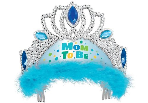 "Tiara ""Mom to be"" Blauw"