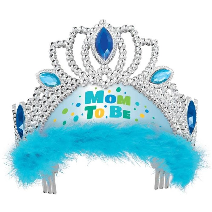 "Tiara ""Mom to be"" Blauw-1"