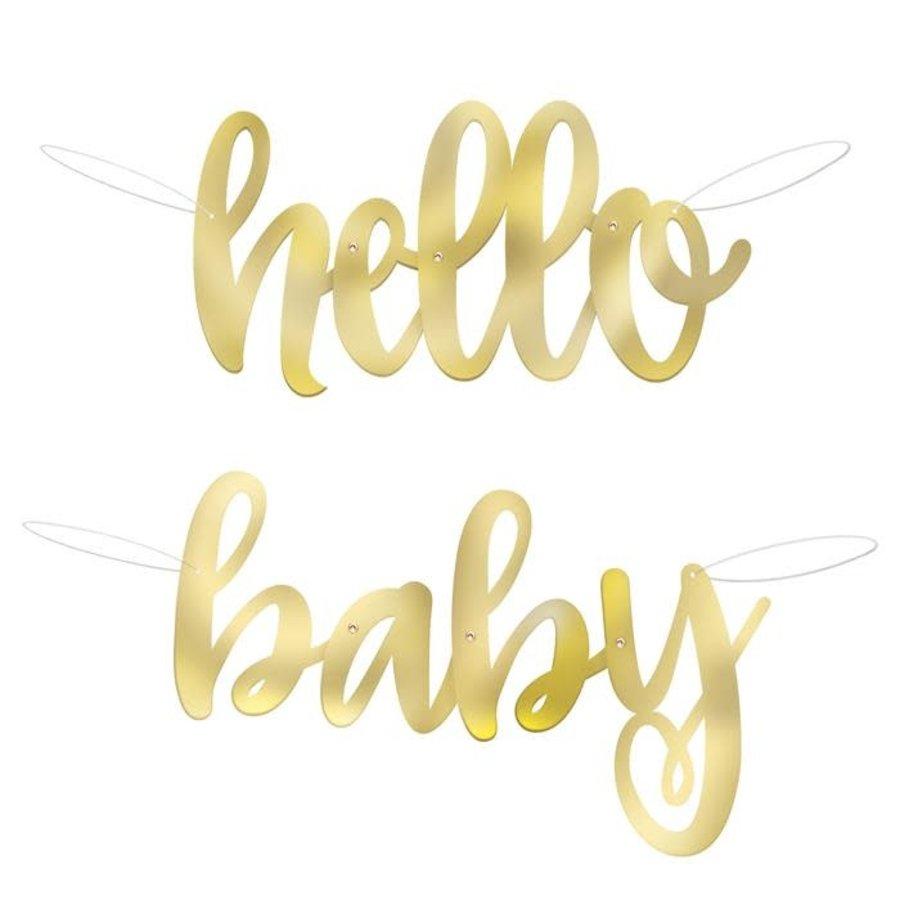 """Letterslinger """"Hello Baby"""" 1m-1"""