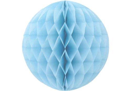 Honeycomb babyblauw 30 cm