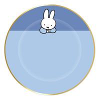 Borden Nijntje baby Blauw 18cm 8st