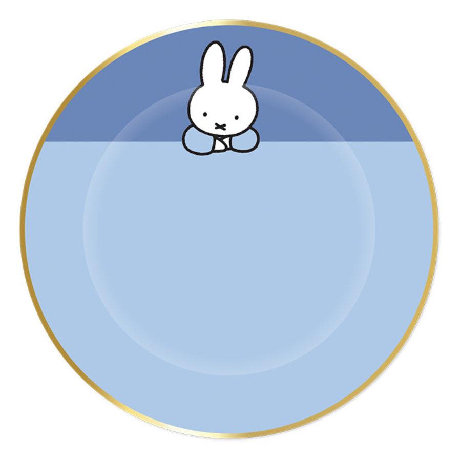 Borden Nijntje baby Blauw 18cm 8st-1