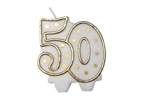 """Cijferkaars """"50"""""""