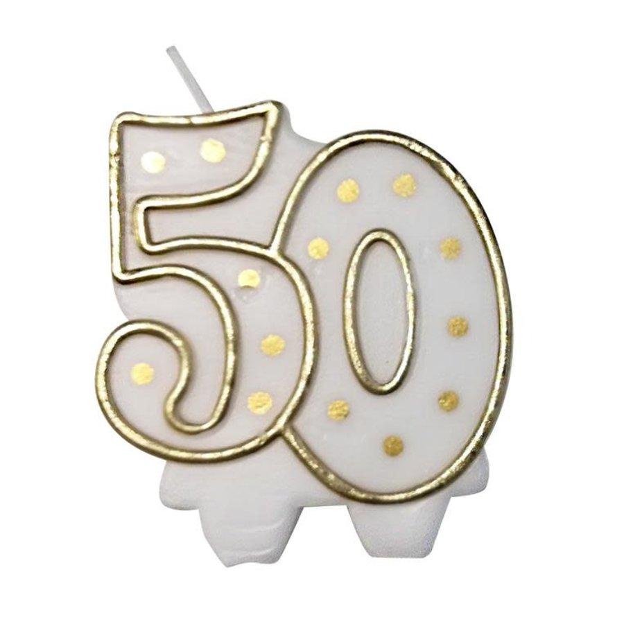 """Cijferkaars """"50""""-1"""