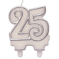 thumb-Cijferkaars zilver ''25''-1