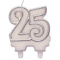 thumb-Cijferkaars zilver ''25''-2