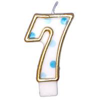 "Cijferkaars Blauw ""7"""