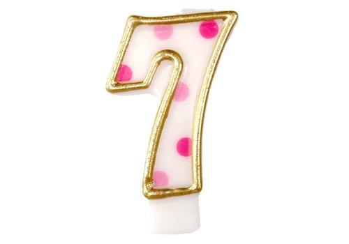 "Cijferkaars Roze ""7"""