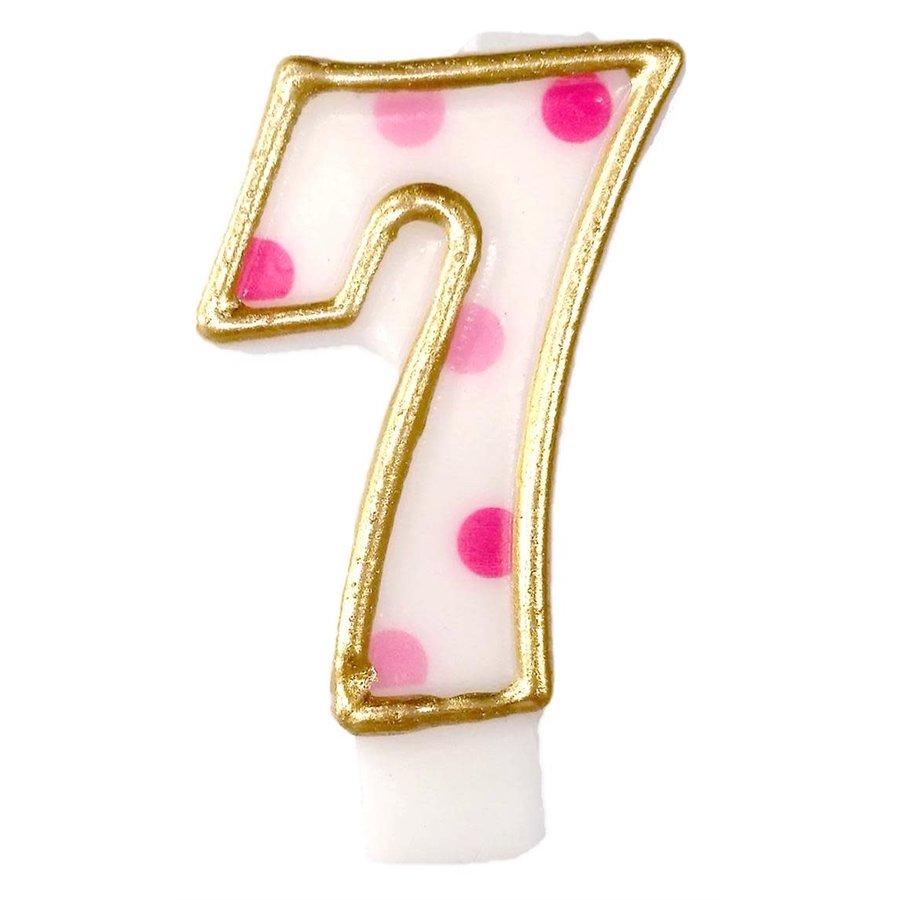 "Cijferkaars Roze ""7""-1"