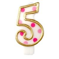 "Cijferkaars Roze ""5"""