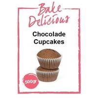 Bake delicious chocolade cupcake 500gr
