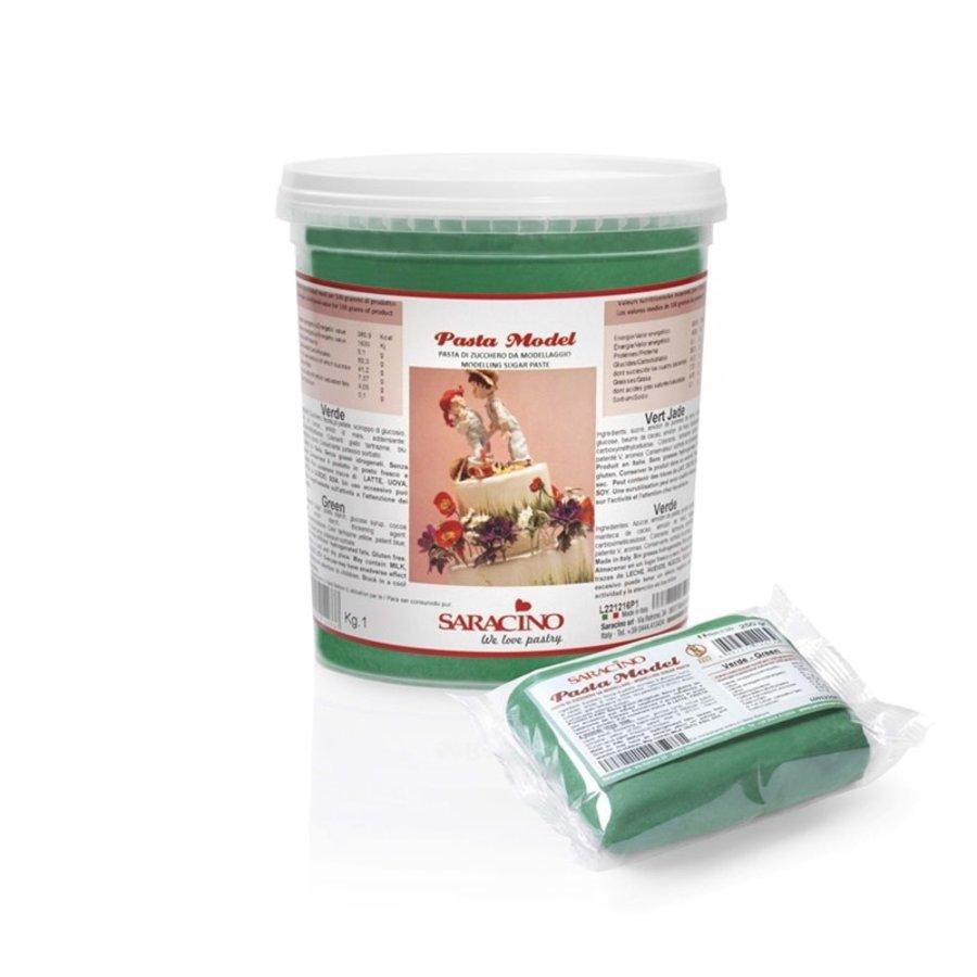 saracino modeling paste groen green 1kg-1