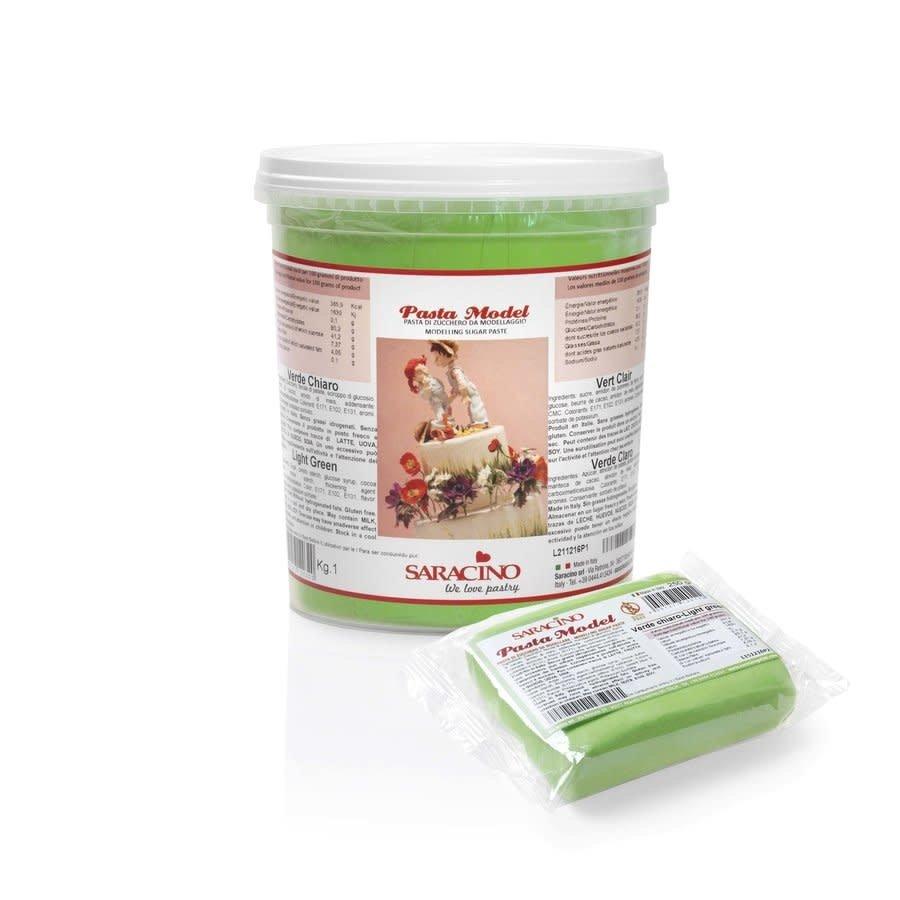 saracino modeling paste light green licht groen 1kg-1
