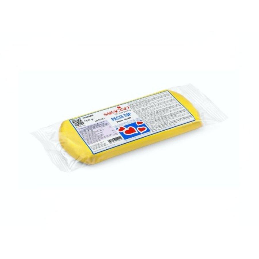 Saracino fondant yellow geel 500gr-1