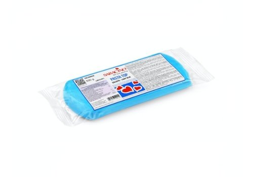 Saracino fondant light blue licht blauw 500gr