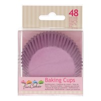 FunCakes Cupcakevormpjes Lila pk/48